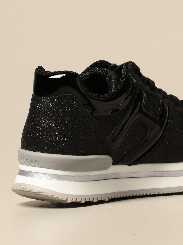 Sneakers platform Hogan lurex