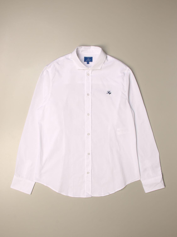 Chemise Fay: Chemise enfant Fay blanc 1