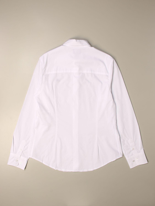 Chemise Fay: Chemise enfant Fay blanc 2