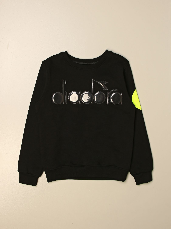Jersey Diadora: Jersey niños Diadora negro 1