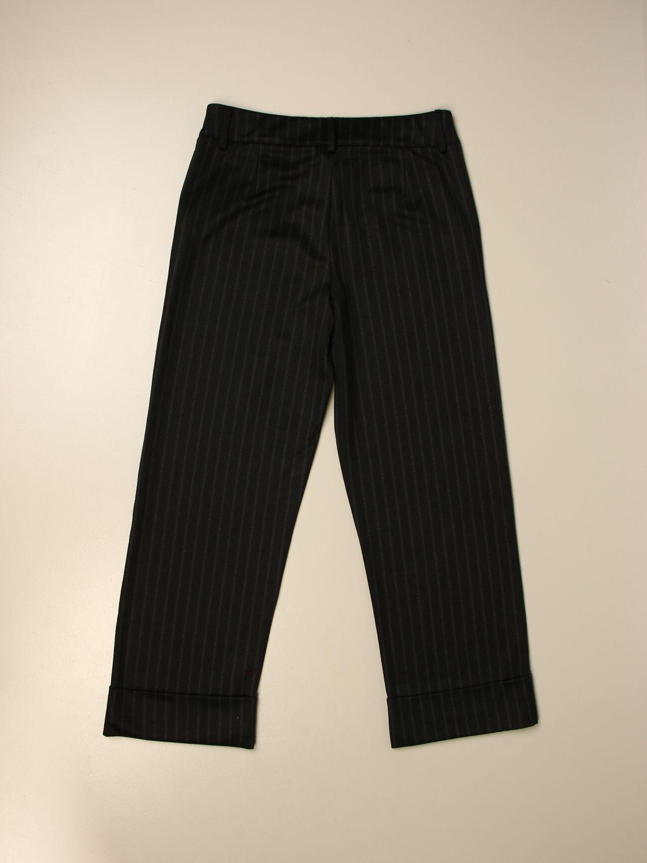 Pantalone Manila Grace: Pantalone gessato Manila Grace ampio fantasia 2