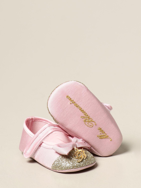 Scarpe Miss Blumarine: Ballerina Miss Blumarine con logo rosa 2