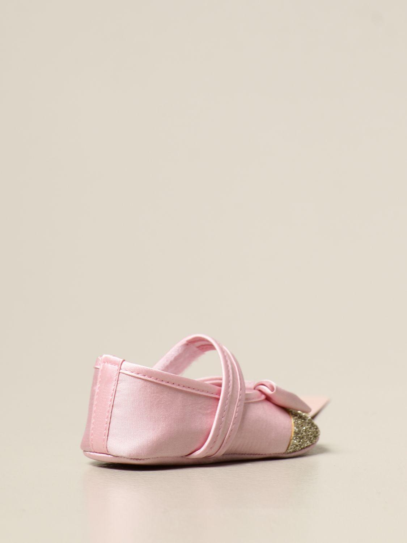 Scarpe Miss Blumarine: Ballerina Miss Blumarine con logo rosa 3