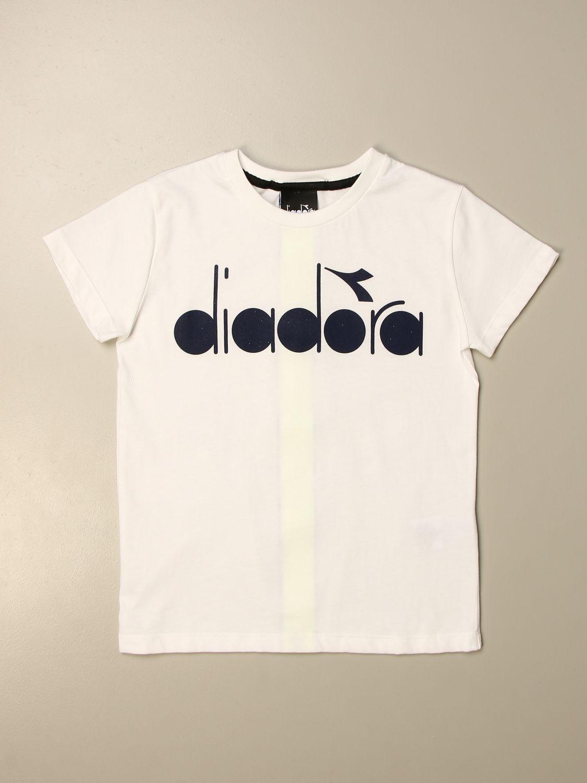 Camiseta Diadora: Camiseta niños Diadora blanco 1