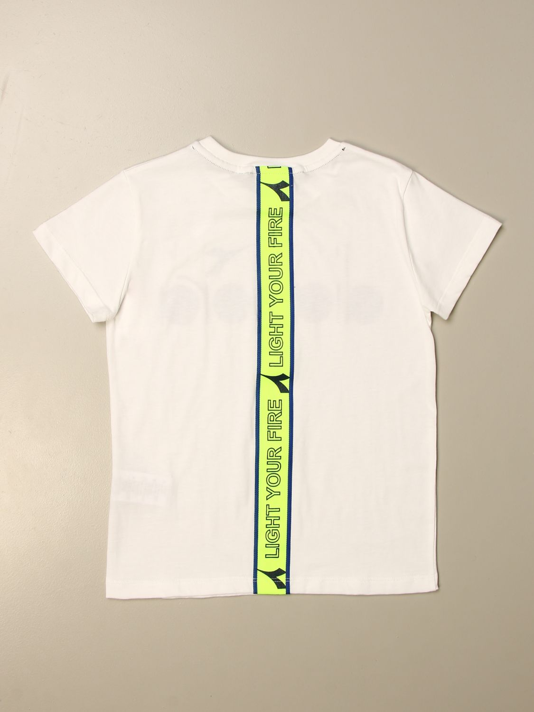 Camiseta Diadora: Camiseta niños Diadora blanco 2