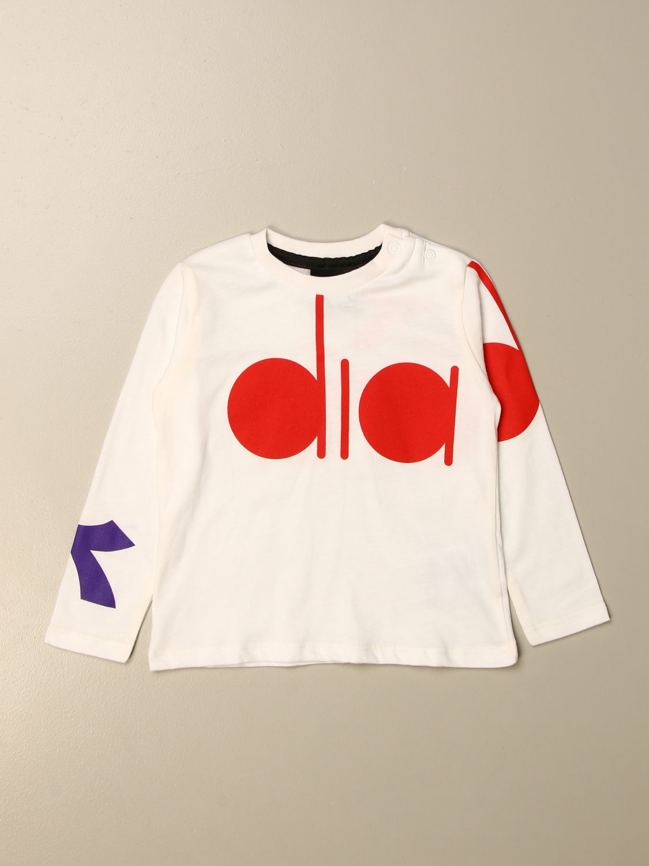 T-shirt Diadora: T-shirt kids Diadora white 1