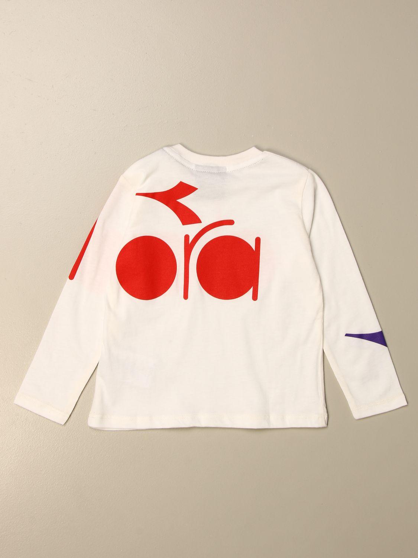 T-shirt Diadora: T-shirt kids Diadora white 2