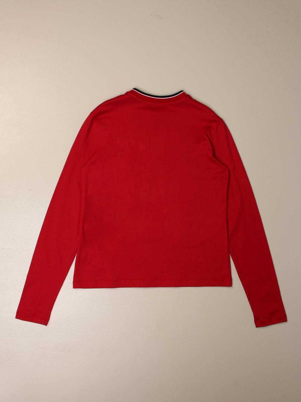 T-shirt Dolce & Gabbana: T-shirt kids Dolce & Gabbana red 2