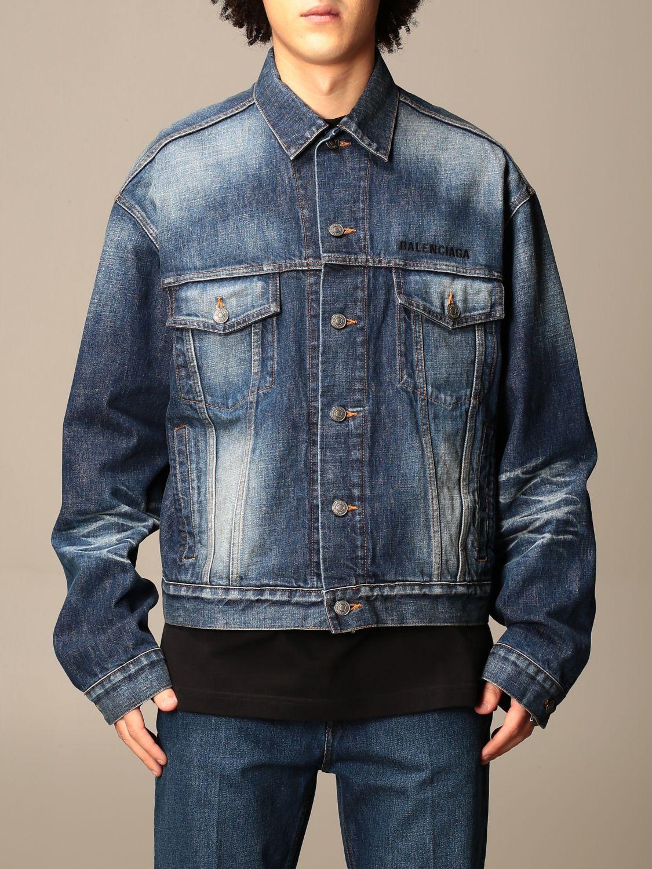 Jacket Balenciaga: Jacket men Balenciaga blue 1