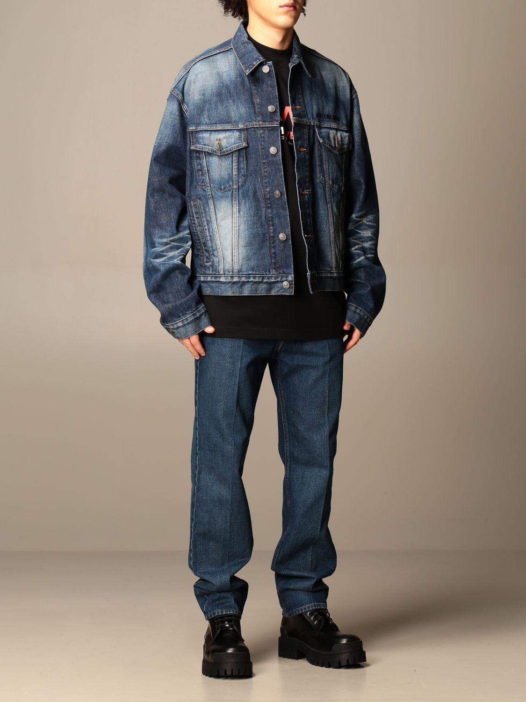 Jacket Balenciaga: Jacket men Balenciaga blue 2