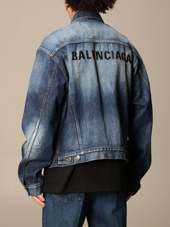 Jacket Balenciaga: Jacket men Balenciaga blue 3