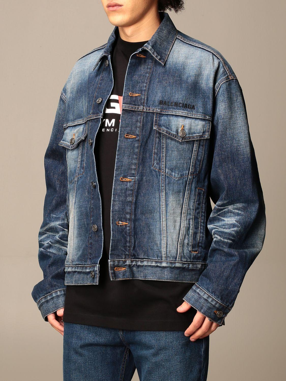 Jacket Balenciaga: Jacket men Balenciaga blue 4