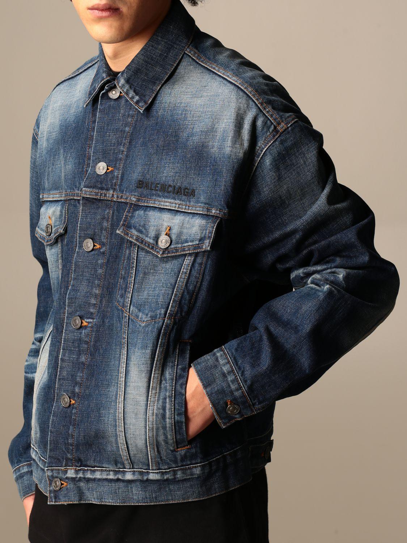 Jacket Balenciaga: Jacket men Balenciaga blue 5