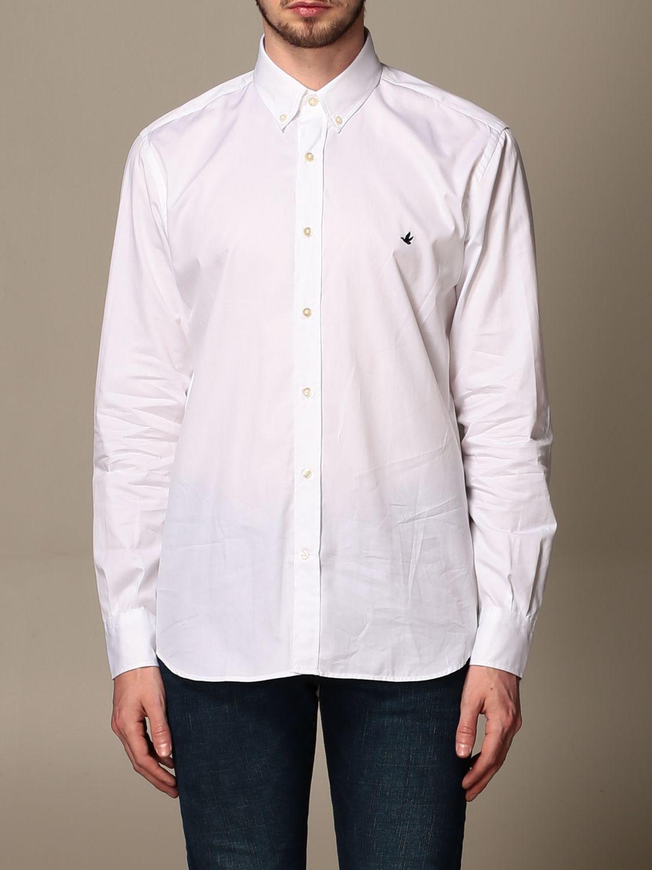 Рубашка Brooksfield: Рубашка Мужское Brooksfield белый 1