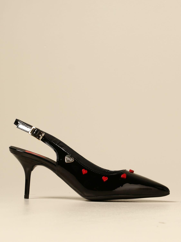 High heel shoes Love Moschino: High heel shoes women Love Moschino black 1