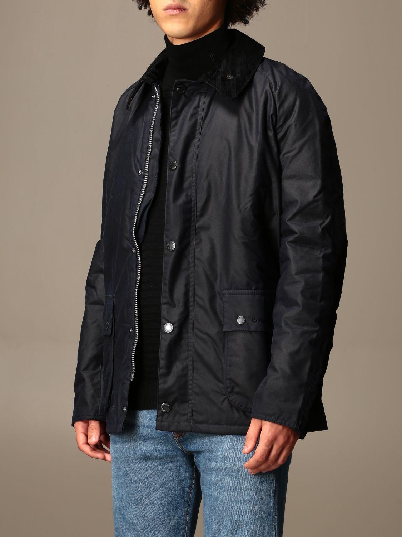 Jacket Barbour: Jacket men Barbour blue 3