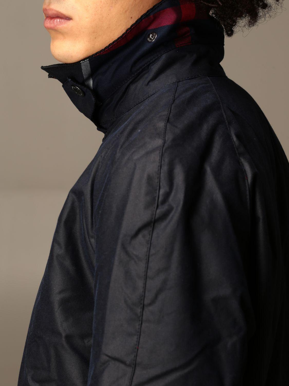 Jacket Barbour: Jacket men Barbour blue 4