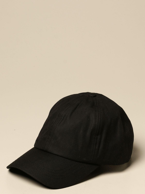 Hat Barbour: Hat men Barbour black 1