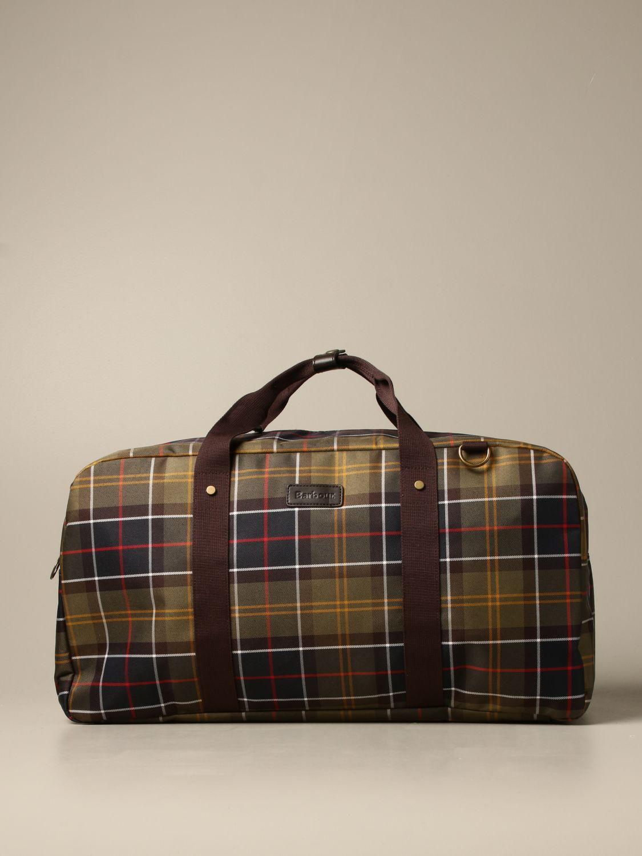 Travel bag Barbour: Bags men Barbour green 1