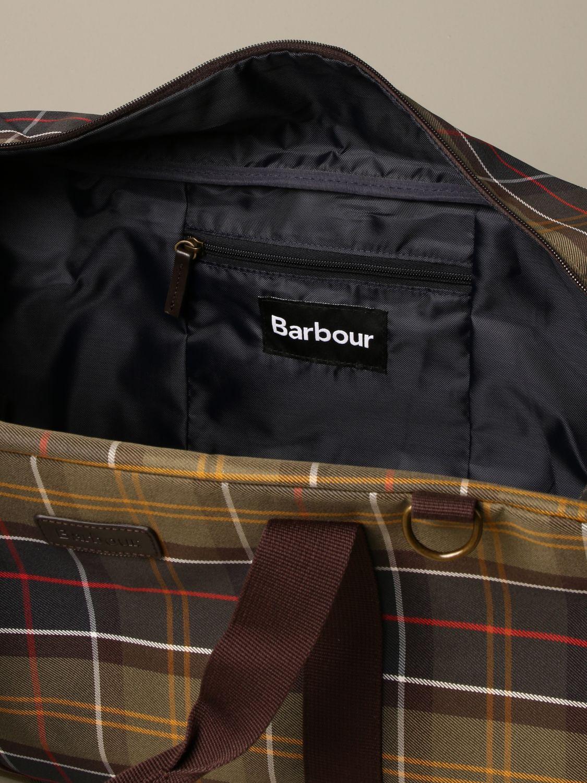 Travel bag Barbour: Bags men Barbour green 4