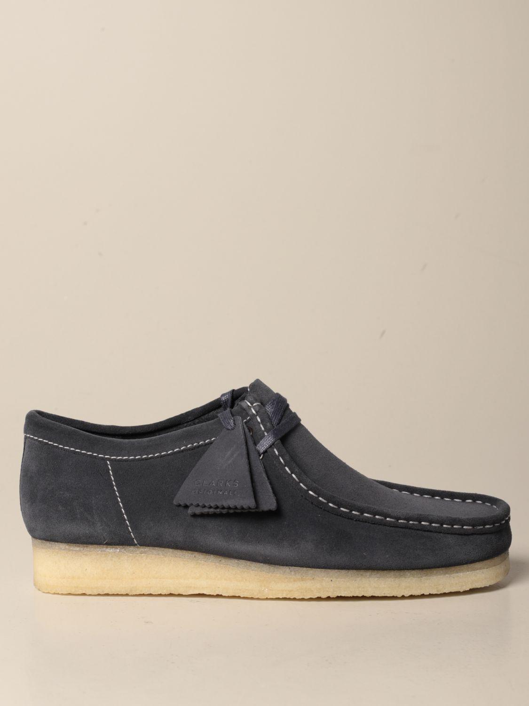 Мокасины Clarks: Обувь Мужское Clarks чернила 1