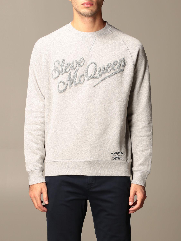 Sweatshirt Barbour: Sweatshirt men Barbour grey 1