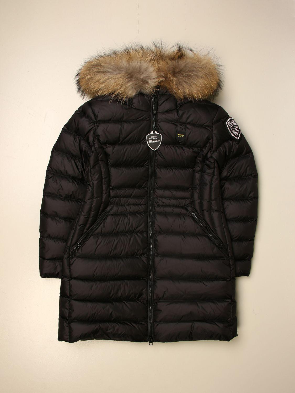 Chaqueta Blauer: Abrigo niños Blauer negro 1