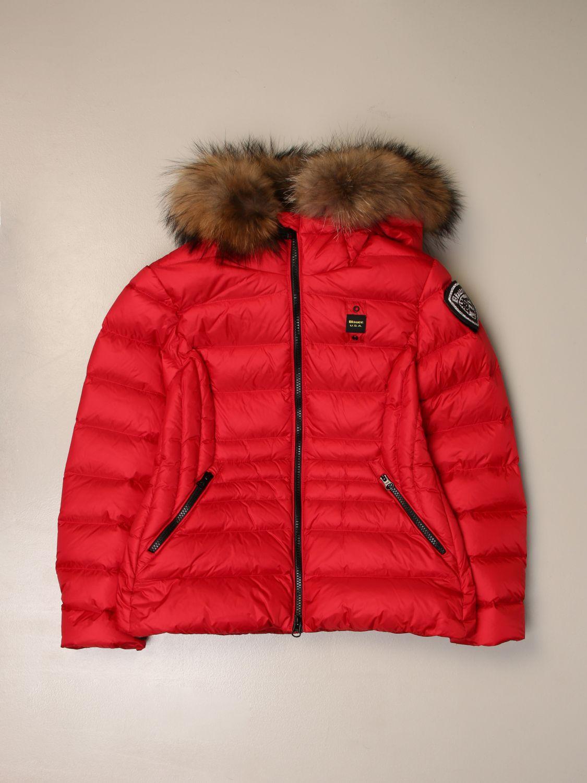 Chaqueta Blauer: Abrigo niños Blauer rojo 1