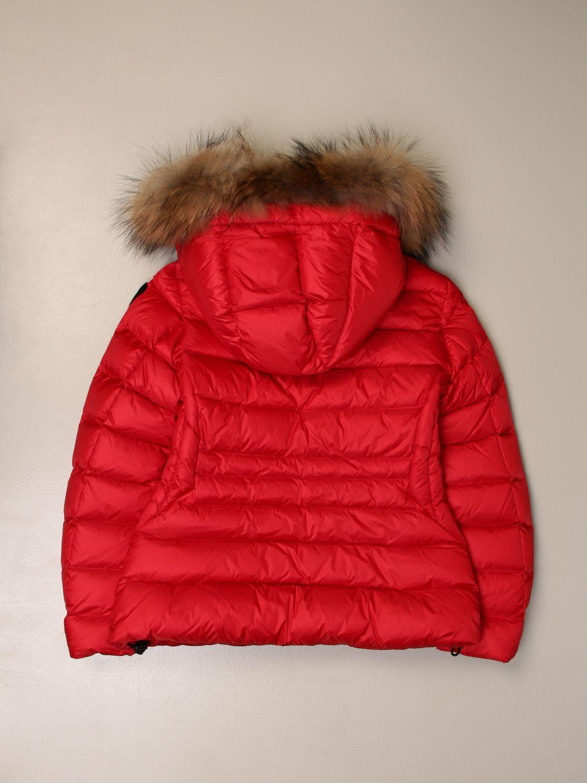 Chaqueta Blauer: Abrigo niños Blauer rojo 2