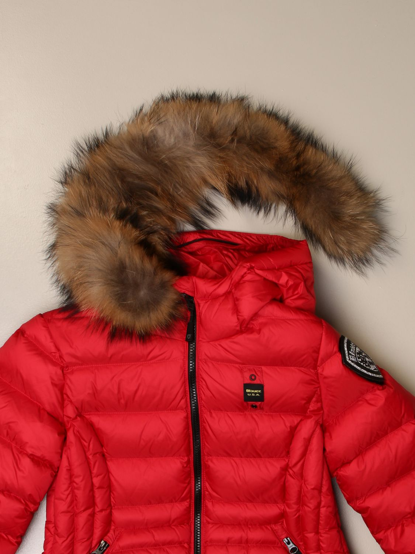 Chaqueta Blauer: Abrigo niños Blauer rojo 3