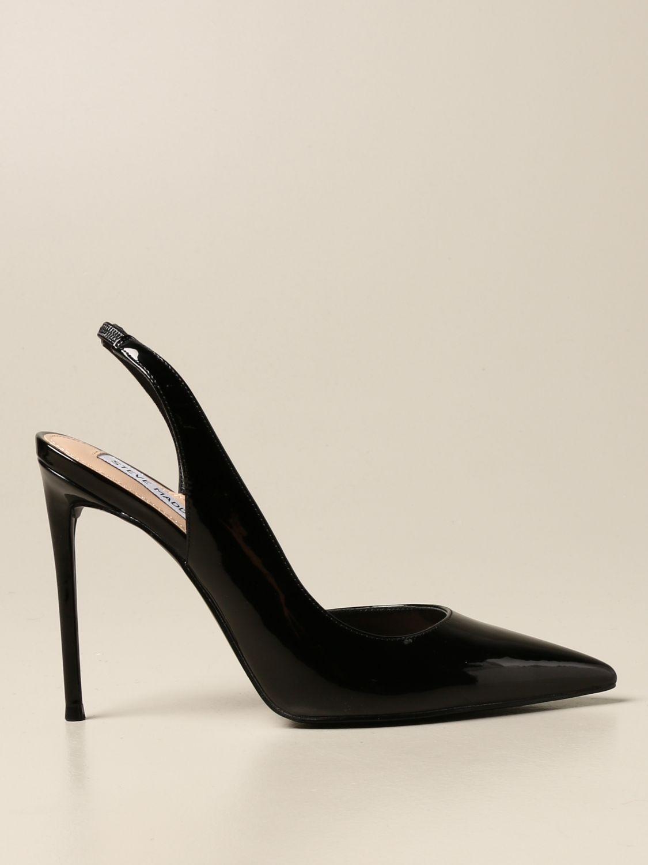 tono Brutal inalámbrico  Steve Madden slingback in patent leather | High Heel Shoes Steve Madden  Women Black | High Heel Shoes Steve Madden SMSNADIA Giglio EN