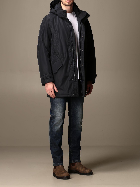 Jacket Aspesi: Coat men Aspesi navy 2