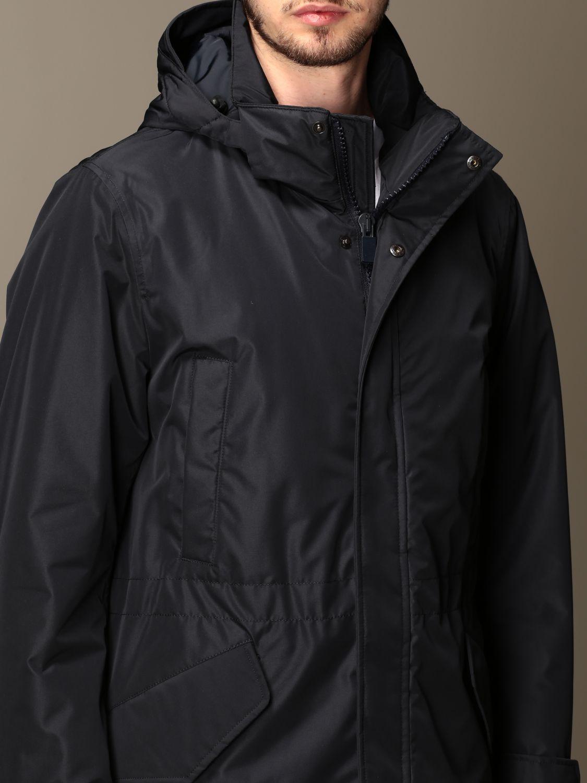Jacket Aspesi: Coat men Aspesi navy 4