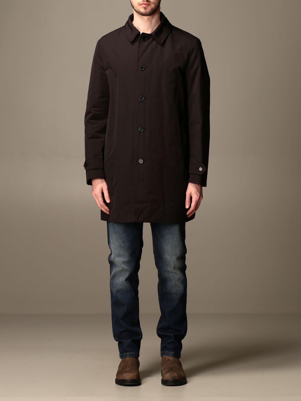 Jacket Aspesi: Trench coat men Aspesi black 1