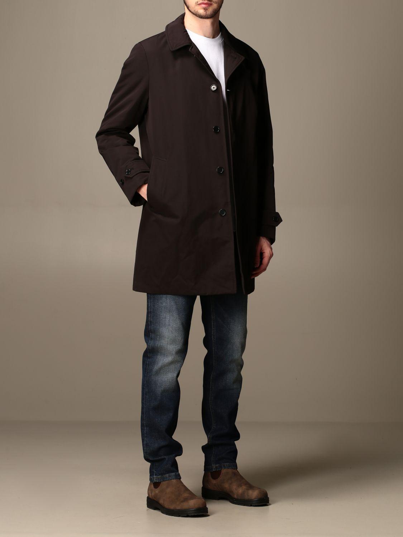 Jacket Aspesi: Trench coat men Aspesi black 2