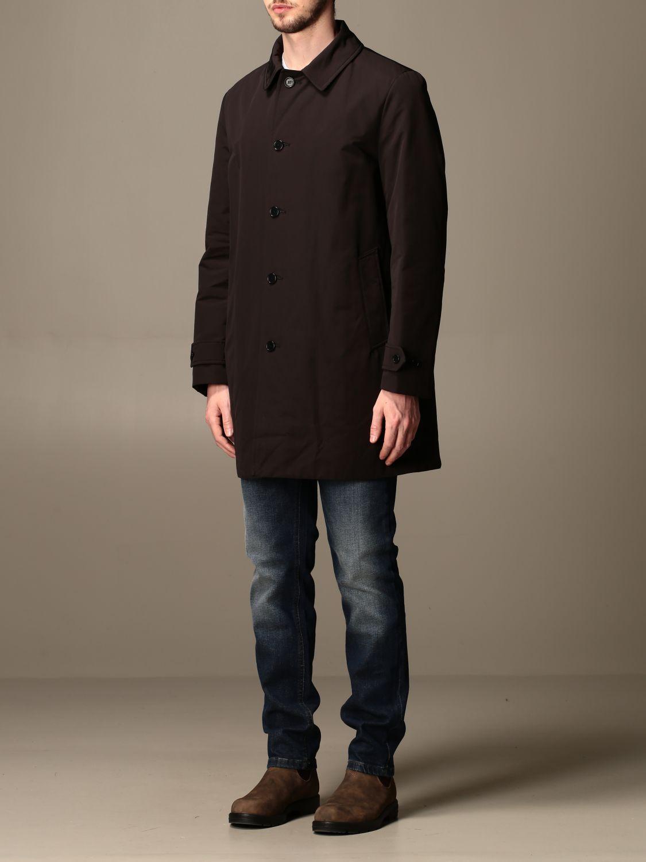 Jacket Aspesi: Trench coat men Aspesi black 4