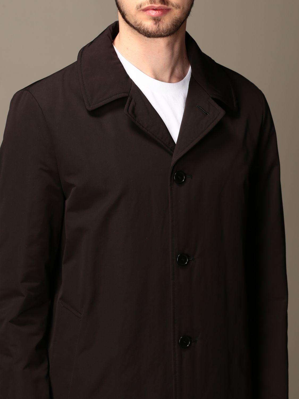 Jacket Aspesi: Trench coat men Aspesi black 5