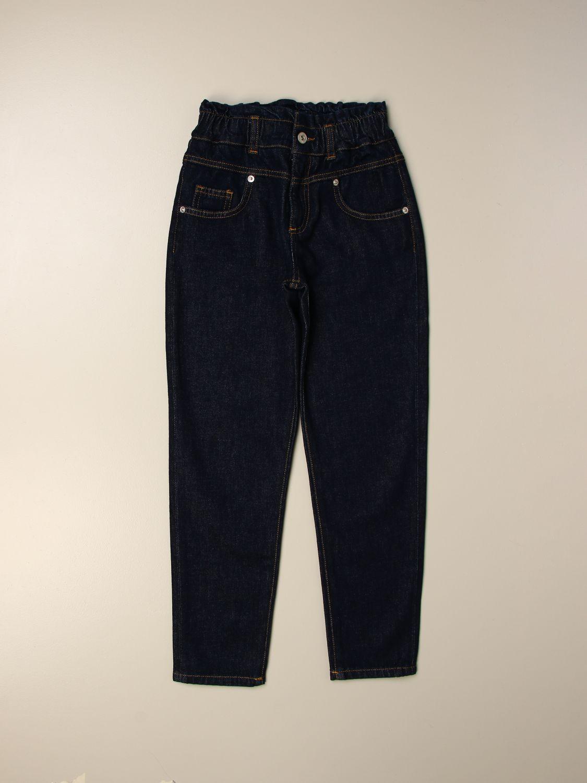 Vaquero Alberta Ferretti Junior: Pantalón niños Alberta Ferretti Junior azul oscuro 1