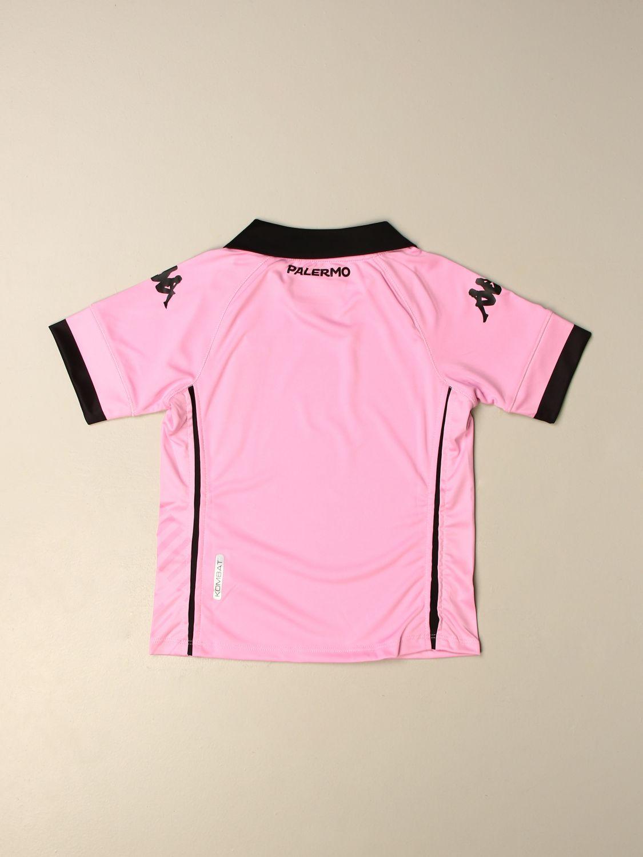 T-shirt Palermo: Maglia Kombat bambino da gioco Palermo in tessuto interlock rosa 2