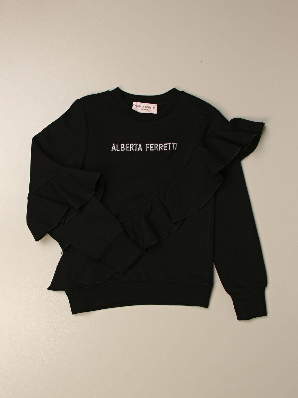 Jersey Alberta Ferretti Junior: Jersey niños Alberta Ferretti Junior negro 1