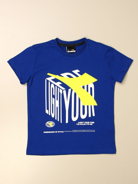 Camiseta Diadora: Camiseta niños Diadora royal blue 1