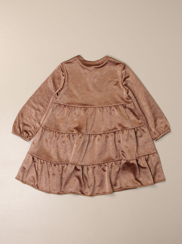 Платье Caffe' D'orzo: Платье Детское Caffe' D'orzo желто-коричневый 2