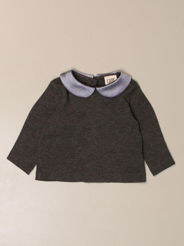 Camiseta Caffe' D'orzo: Camisetas niños Caffe' D'orzo gris 1