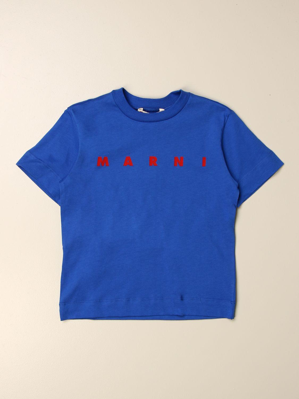 T-Shirt Marni: T-shirt kinder Marni blau 1