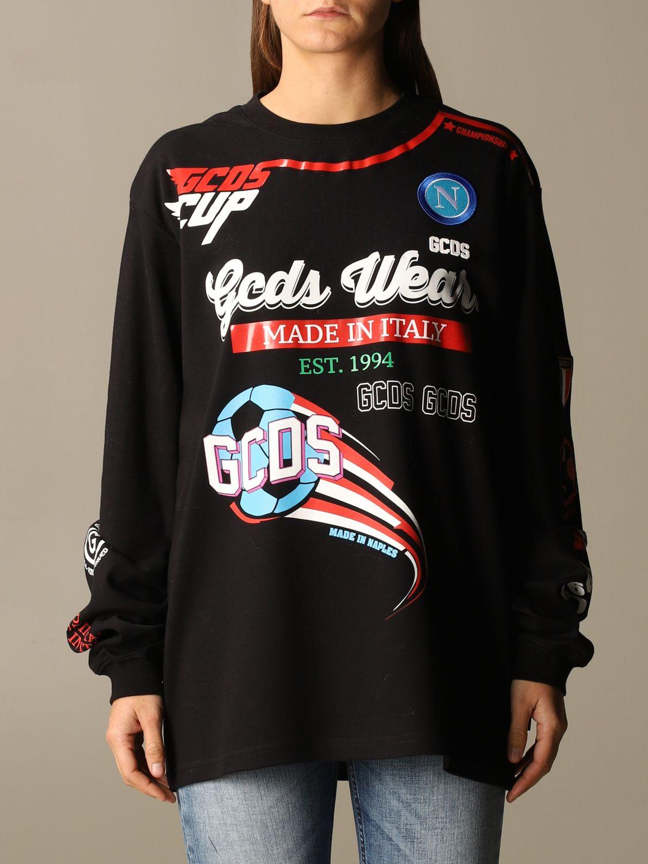 Camiseta Gcds: Camiseta mujer Gcds negro 1