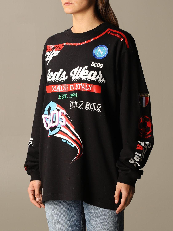 Camiseta Gcds: Camiseta mujer Gcds negro 3