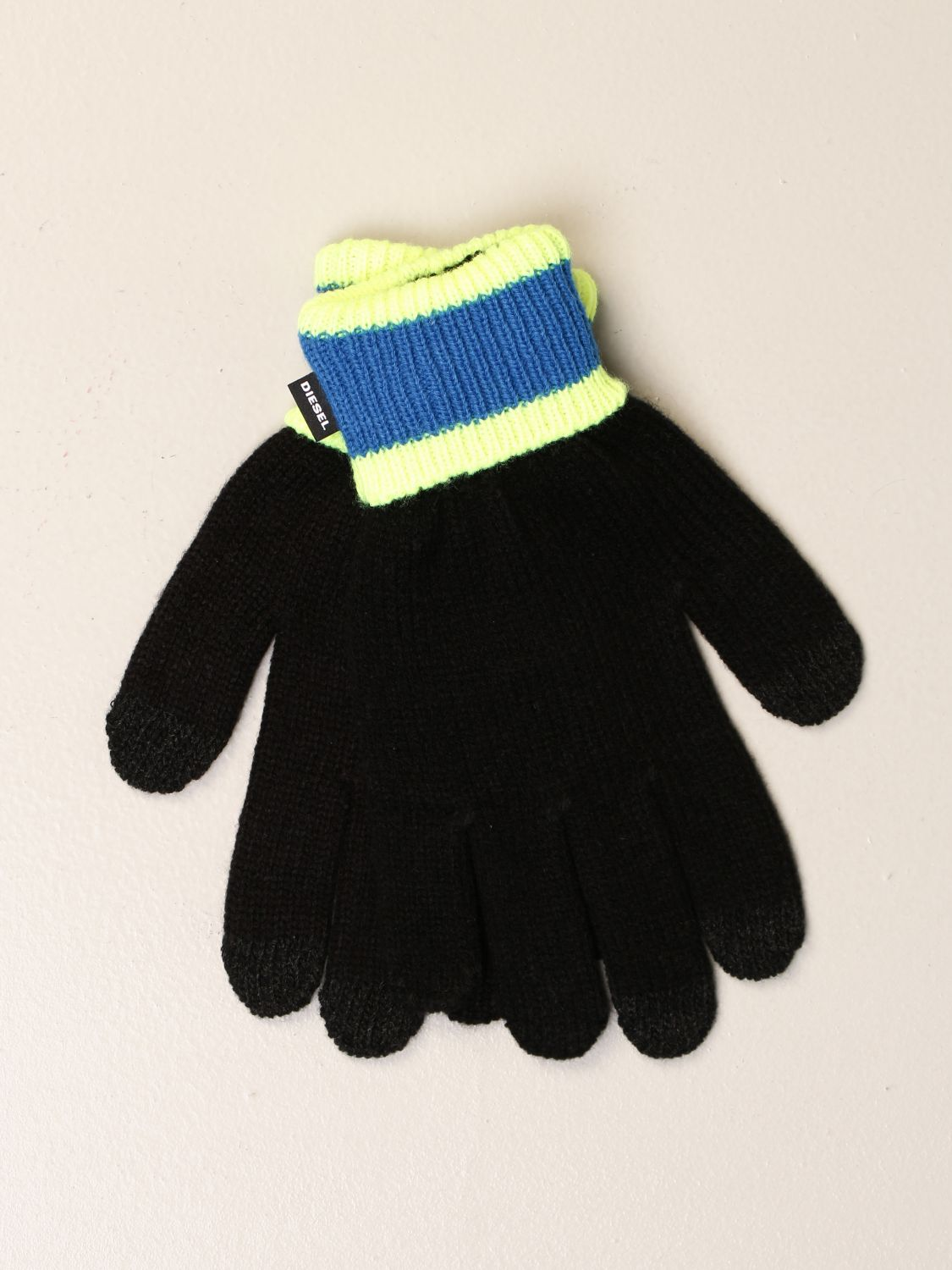 Gloves Diesel: Gloves kids Diesel black 1