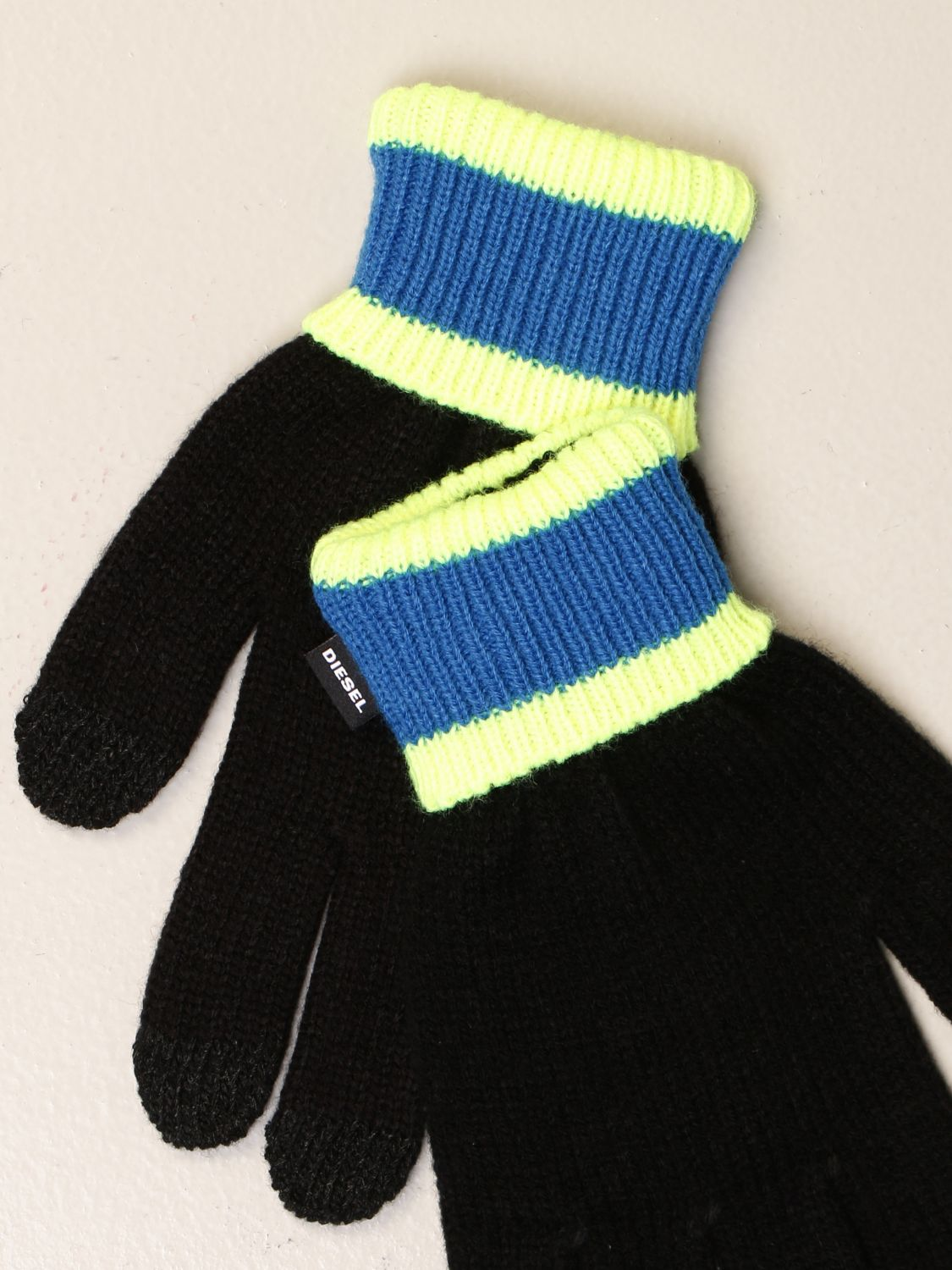 Gloves Diesel: Gloves kids Diesel black 2