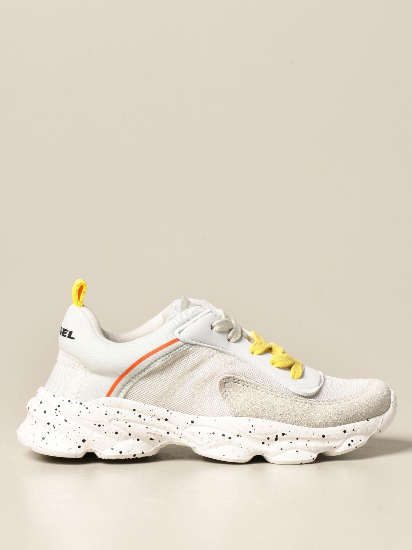 Zapatos Diesel: Zapatos niños Diesel blanco 1