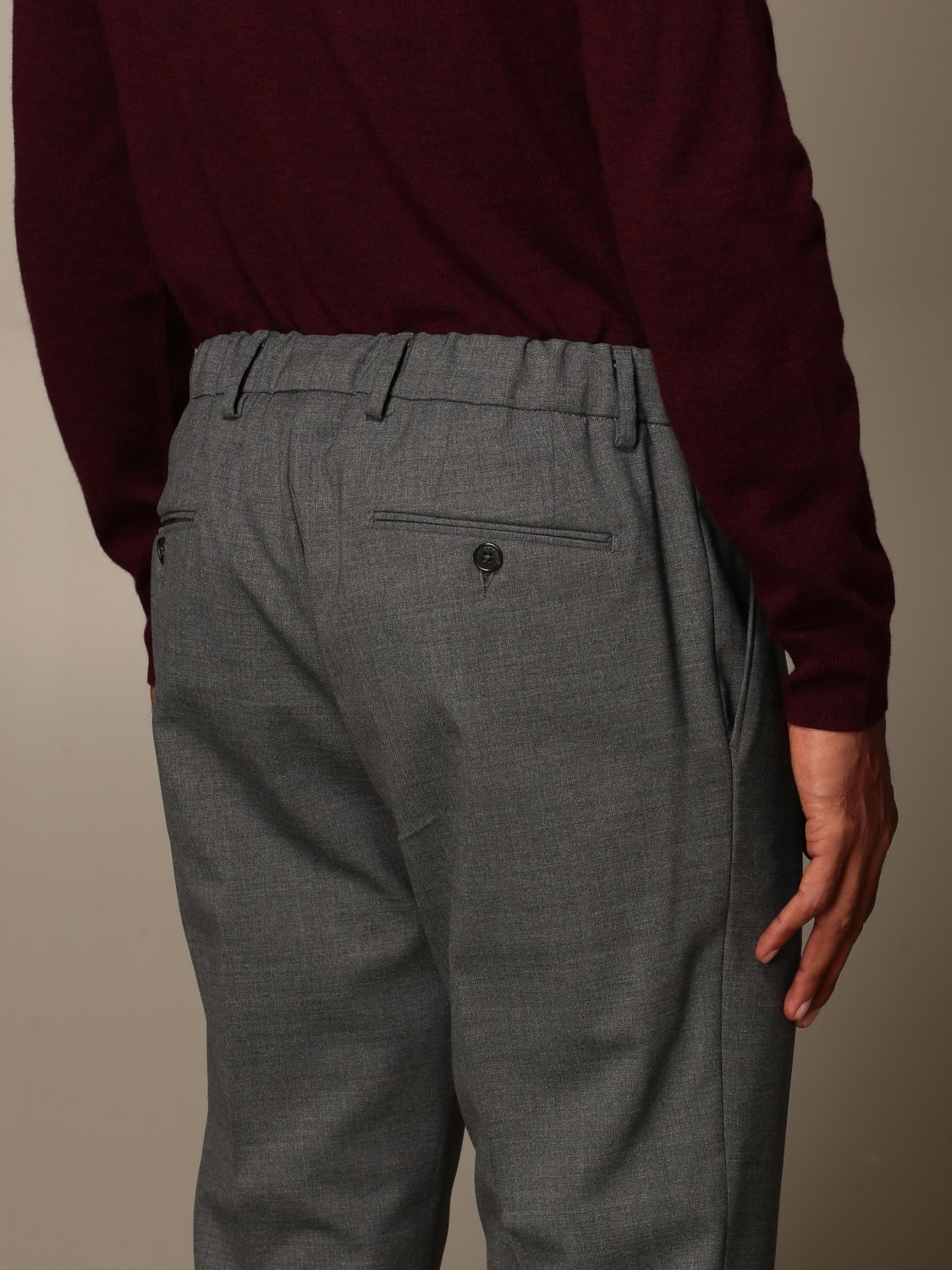 Trousers Be Able: Trousers men Be Able grey 3